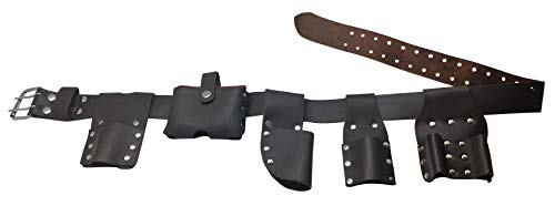 Leather Gold 3416 Scaffolding Belt   6-Piece Leather Scaffold Belt, 2