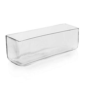 Best glass rectangular vases Reviews