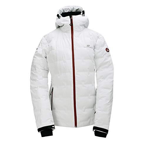 2117 of Sweden Damen Women's Mon Eco Down Ski Jacket Skijacke Grau/Weiß 40