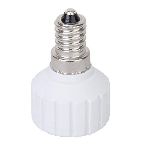 Gfhrisyty E14 a GU10 Tornillo LED Bombilla Socket Convertidor