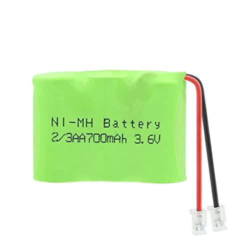 Groupe De Batteries Ni Mh Rechargeables 3.6v 700mah 2/3AA, Connecteurs Universels Pour VOS Appareils Comme La téLéCommande