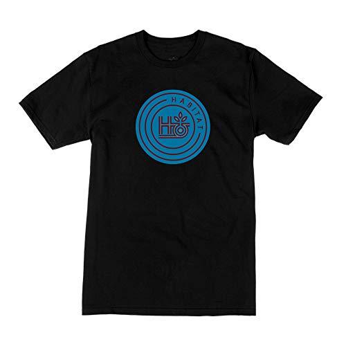 Habitat Skateboards Standard H-POD Logo Tee schwarz, M