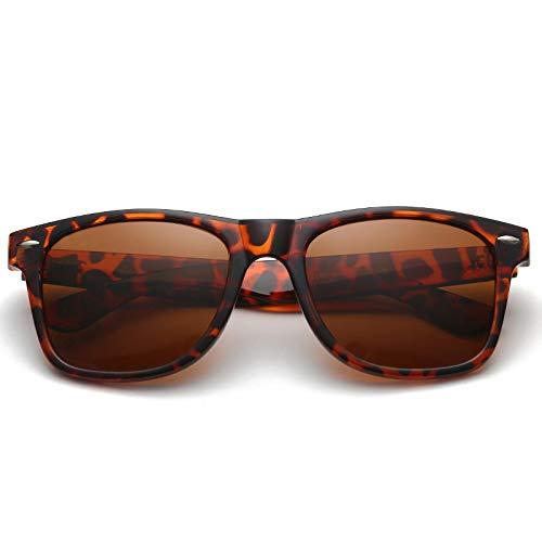 Gafas de Sol Sunglasses Gafas De Sol Clásicas con Luz Polarizada para Hombre, Gafas De SolRedondas DePc Vintage conRevestimiento para Mujer, Gafas Al Aire Libre 4