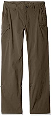 Solstice Apparel Women's Stretch Roll Up Pant, Bark, 8