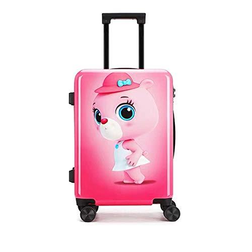 Koffer XYDBB Reiskoffer Kinderwagen Cabinekoffer voor jongens Kindertas op wielen 17
