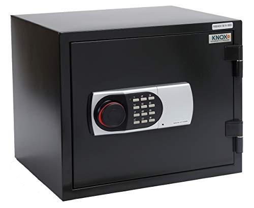 KNOXSAFE KS0FK1601E FIREKNOX 1, Feuerschutztresor, Safe für 60 min.feuersichere Aufbewahrung von Dokumenten, CD, DVD, USB