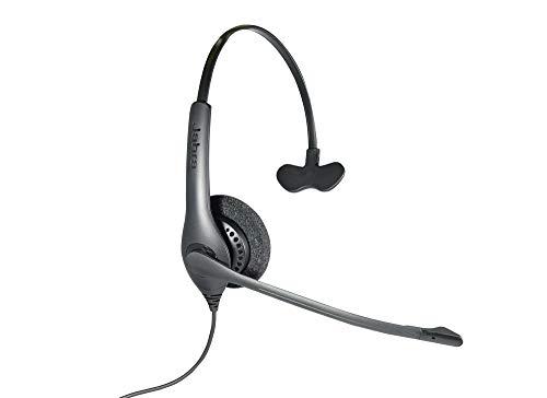 Agfeo 1500Mono Monophon Kopfhörer schwarz Kopfhörer mit Mikrofon–Kopfhörer mit Mikrofon (Call Center/Büro, Monophon, Kopfband, Schwarz, verkabelt, ohraufliegend)