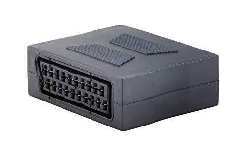 KTX7® Scart Adapter - Scart Buchse/Scart Buchse (1 Stück)