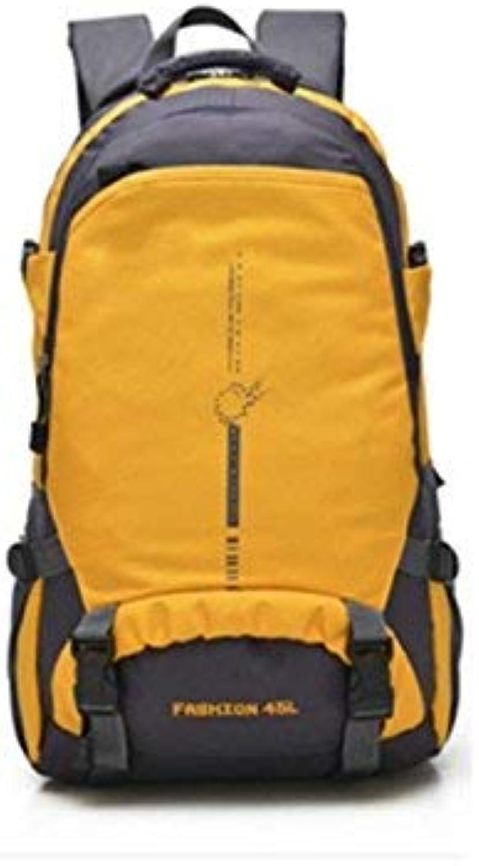 MARCU Home Outdoor und Indoor Outdoor Sports Sports Sports Kletterrucksack Multifunktions-Wanderreisetasche (Gelb) B07L1P144Z  Ab dem neuesten Modell cb6832