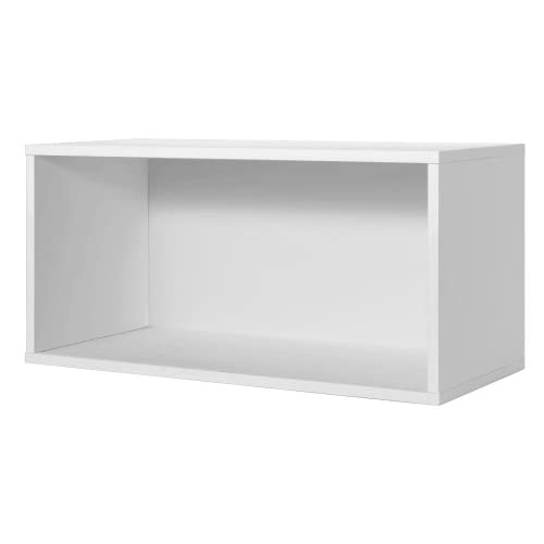 Sensational White Cube Storage Wall Shelf Amazon Com Home Interior And Landscaping Ologienasavecom