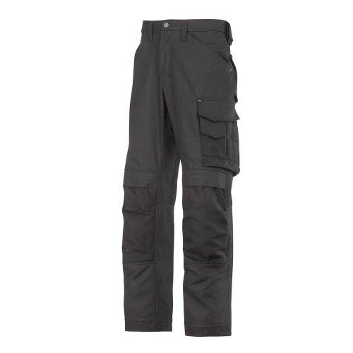 Snickers Workwear męskie spodnie robocze 250 *dłuższy czas dostawy czarny -czarny 0404