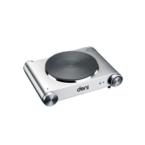 Deni 16310 Stainless-Steel 1500-Watt Tabletop Single Burner