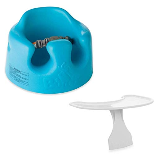 Bumbo Seat Blue- Bundled with Play Tray