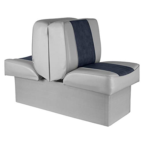 Wise 8WD707P-1-660 Deluxe Lounge Seat (Grey/Navy)