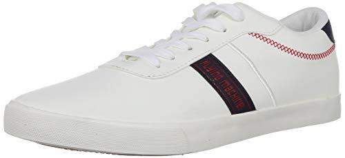 Flying Machine Men's Stuan Off White Sneakers-8 UK (42 EU) (9 US)...