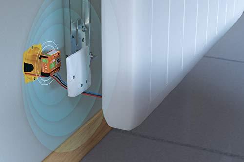 Nodon SIN-2-FP-01 Enocean módulo calefactor con cable, naranja, pequeño