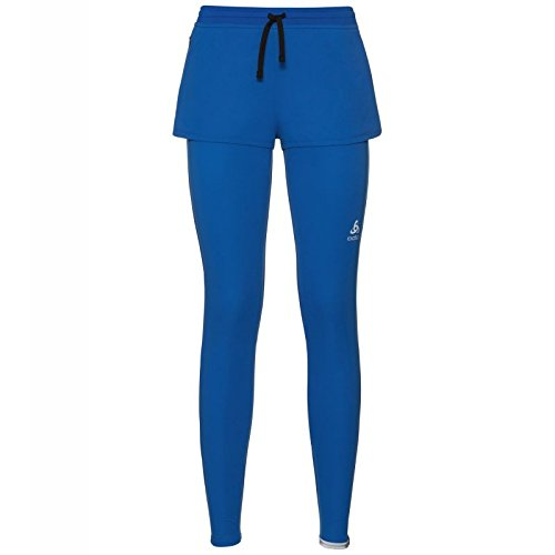 Odlo Collant Running Femme Logic ZEROWEIGHT Course, Lapis Blue, FR : M (Taille Fabricant : M)