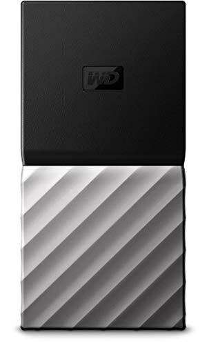 WD 512GB My Passport SSD Portable Storage - USB 3.1 - Black-Gray...