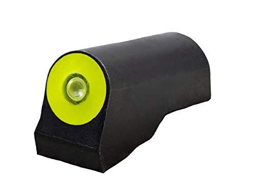 XS Sights Tritium Sights for Remington and Mossberg, Glow in The Dark Shotgun Sights (Pedestal, Yellow)