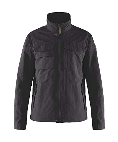 Fjallraven Herren Travellers MT Jacket M Jacke, Dark Grey, L