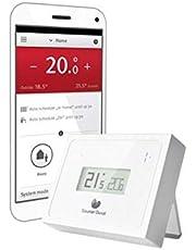 Termostato WiFi modulante, serie Migo diseñado en exclusiva para calderas, programable, modulante con control caldera via app (Android e iOS), 3 x 10 x 5 centímetros (referencia: 0020197227)
