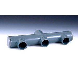 PISCINEO Collecteur PVC Pression diam. 50