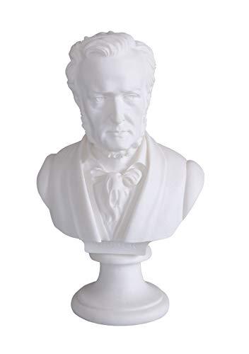 Richard Wagner Büste für Klavier Sammlerstück dekorativ Statue Figur IS251 Palazzo Exklusiv