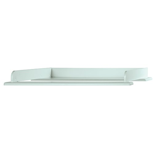 Miami Wickelaufsatz 80x75cm, passend Kommoden, Holz, Mint metallic, 80.8 x 97.6 x 8 cm