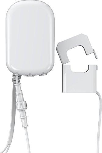 Aeotec ZW095-C 1P Home Energy Meter Gen5, Z-Wave Plus Smart Monitor di Utilizzo Dell'elettricità, Rapporto Consumo Energetico in Tempo Reale, 1 Morsetto, 60A, 230 V, White