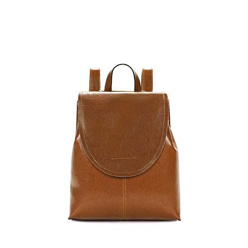Gwrdnjpjc Backpack Women Leisure Bag-Brown