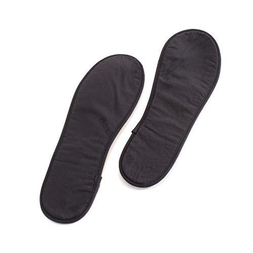 Back on Track Einlegesohlen schwarz für warme Füße Wärmesohlen, Schuhgröße:38