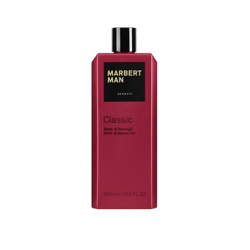 Marbert Man Homme/Men Classic bad- en douchegel, per stuk verpakt (1 x 400 ml)