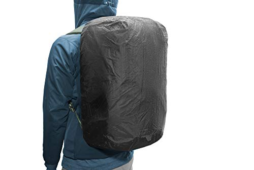 Peak Design BTR-RF-45-BK-1 Housse de Sac à Dos Backpack Rain Cover Noir Nylon 45 L - Housses de Sac à Dos (Backpack Rain Cover, Noir, Nylon, Uniforme, 45 L, 180 mm)