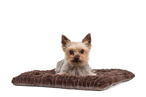 TrendPet Heaven braun - Kuscheldecke für Hunde und Katzen 90x65cm