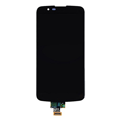 LIJUNGUO For LG K10 LTE K430DS / K410 / K420n Pantalla LCD Ensamblaje de digitalizadorde Pantalla táctil (Color : Black)