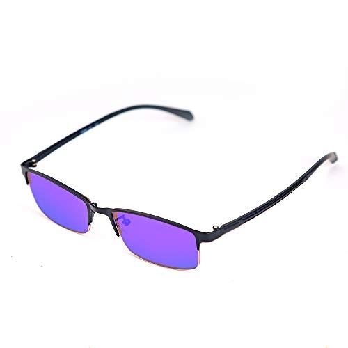 Daltónicos Gafas Hombres Todos ceguera de color correctiva Glasses,Halfframe