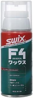 SWIX(スウィックス) スキー・スノーボード用 ワックス F4エアゾール フッ素配合 塗布タイプ
