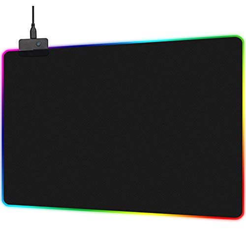 mouse pad led de la marca TECHVIDA