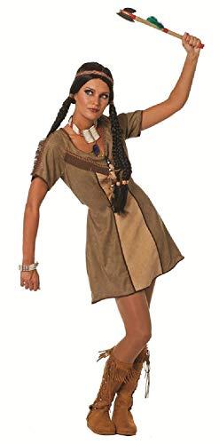 narrenkiste W4787-40 - Vestido para mujer (talla 40), color marrón
