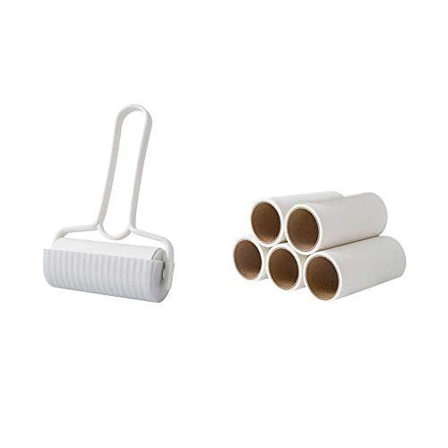 VVU Wiederverwendbare Tierhaarbürste Sticky Roller Lint Cleaner Waschbarer Haarstaubentferner