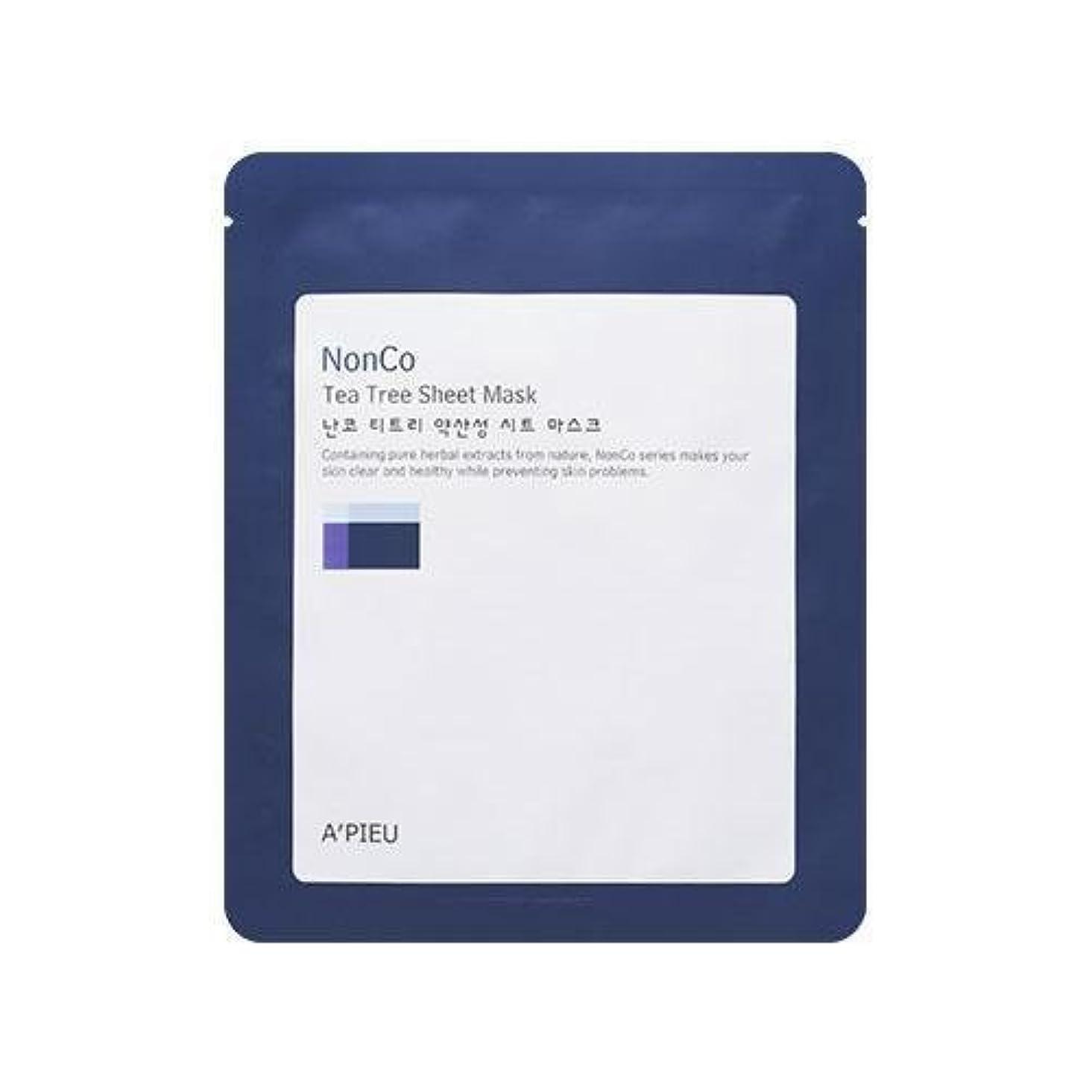 本部バーマドかどうかAPIEU Nanco Tea Tree Sheet Mask (3EA)/ Made in Korea