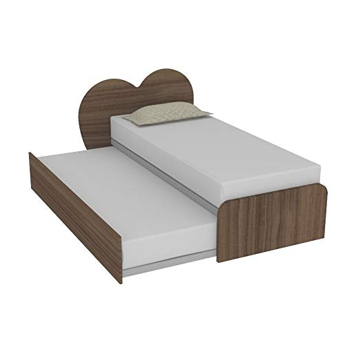 Cupido R - Cama con cabecero de corazón y segunda cama ...