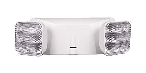 NICOR Lighting Emergency Adjustable LED Light Fixture (EML1-10-UNV-WH)