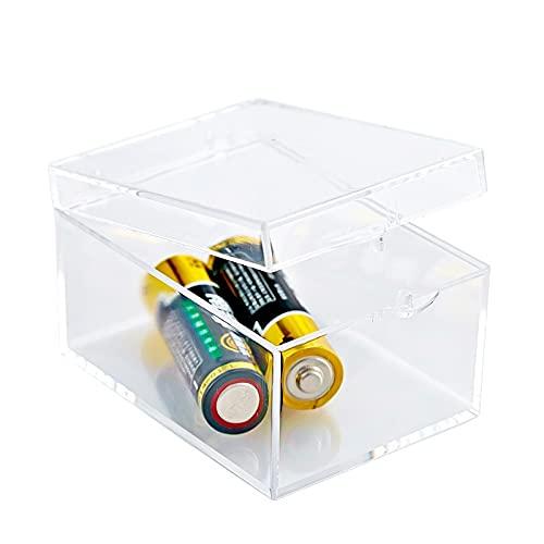 Caja de plástico transparente de 12 tamaños para piezas, herramientas, caja de almacenamiento de juguetes, caja de exhibición de joyas, caja de tornillo, contenedor de cuentas ( Color : 5.5x4.2x3.2 )
