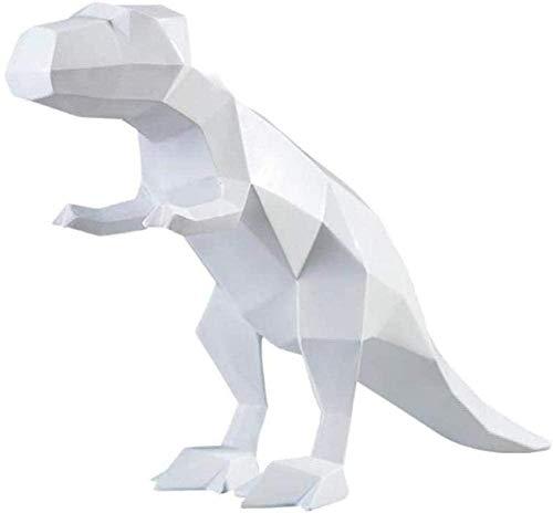 Scultura,Estatuas Artículos Decorativos Esculturas Figuras Escultura De Arte De Dinosaurio Animales De Origami Figura De Dinosaurio Resina Artes Y Manualidades Hogar Escritorio Decoración Oficina