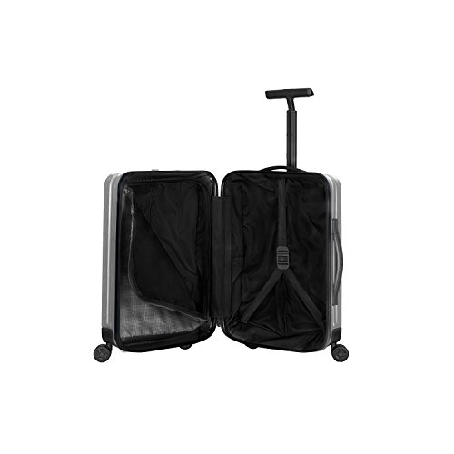 Samsonite Inova Hardside Luggage with Spinner Wheels, Metallic Silver