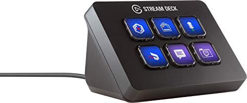 Elgato Stream Deck Mini - Live Content Creation Controller mit 6 anpassbaren LCD-Tasten, für Windows 10, macOS 10.13 oder neuer