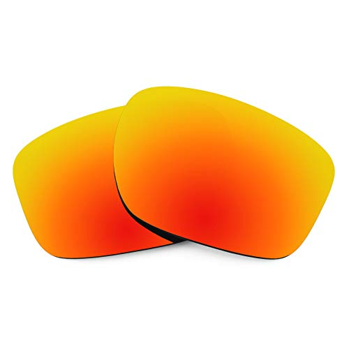 Revant Replacement Lenses for Oakley Sliver, Polarized, Rojo Fuego MirrorShield