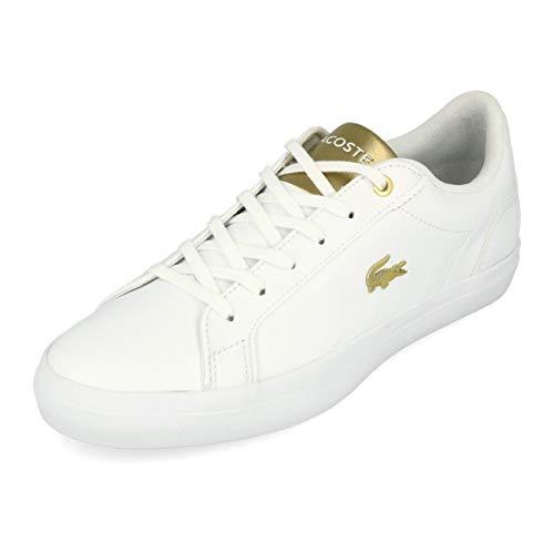 Lacoste Lerond 119 1 QSP CFA White Gold, Blanco (Blanco), 38 EU