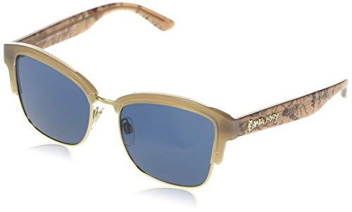 BURBERRY 0BE4265 371480 54 Gafas de sol, Dorado (Opal Beige/Light Gold/Blue), Mujer